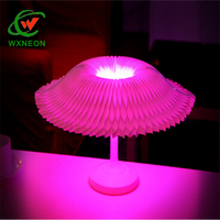 Creative Gift New Strange Bedroom Mini LED Colored USB Rechargeable Folding Book Small Night Table Lamp