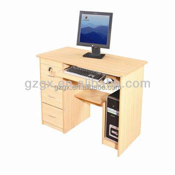 School Wooden Cheap Computer Desk,Desktop Computer Table Designs