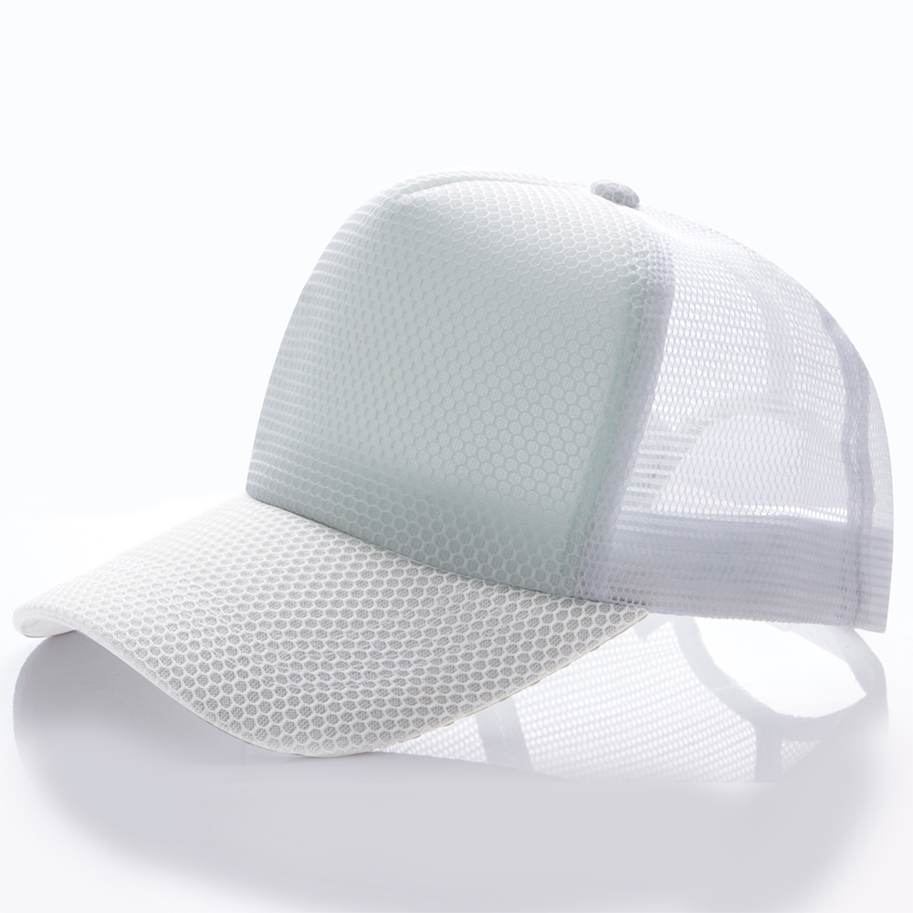 YUEXING Free Sample custom Spot 5 blank full mesh colorful trucker advertising cap <strong>hat</strong>