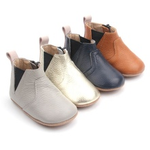 New Design Toddler Shoes Graceful Comfortable Genuine Leather Baby Boots
