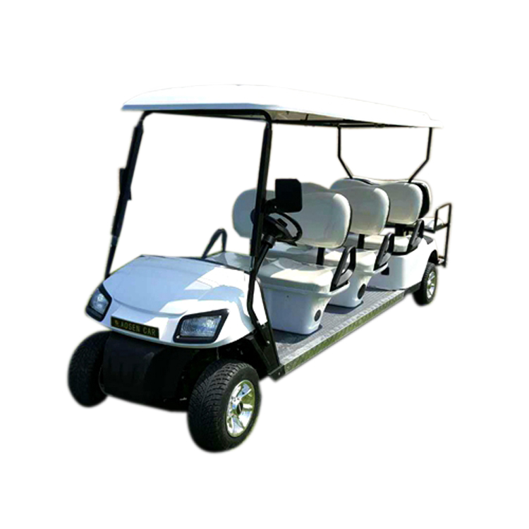 Smart 4 Wheels 8 2 Seats Electric Golf Cart Without The Door