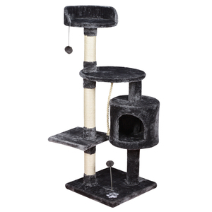 small large size dark grey high quality pet scratcher house cat trees