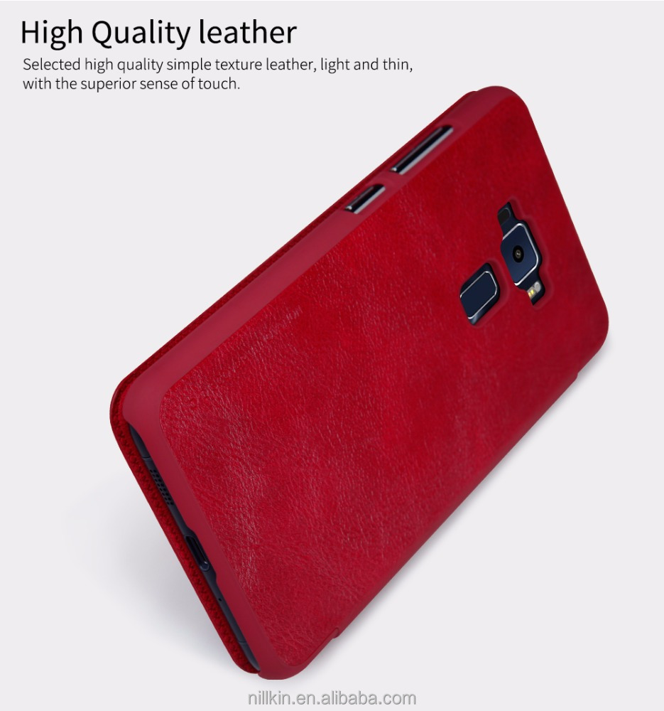 the latest 81fbe a23d3 Nillkin Qin Vintage Flip Leather Case For Asus Zenfone 3 Ze552kl 5.5inch -  Buy Leather Case For Asus Zenfone 3,Flip Case Cover,Nillkin Product on ...