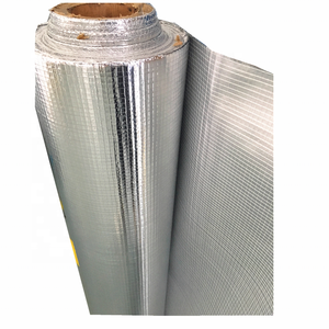 Aluminum foil coating fire resistant material for rubber foam insulation