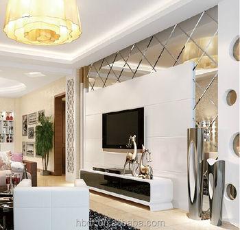 Luxus Diamant Spiegeldekoration Vorhang Wand Zauber Spiegel