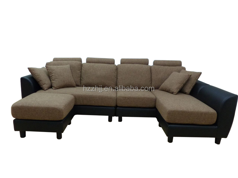 Mixed Leather And Fabric Sofas, Mixed Leather And Fabric Sofas Suppliers  And Manufacturers At Alibaba.com