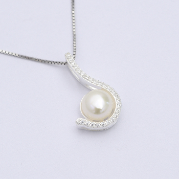 Africa pendant 925 sterling silver pearl cage letter j shaped pave africa pendant 925 sterling silver pearl cage letter j shaped pave cz diamond pendant for party aloadofball Images