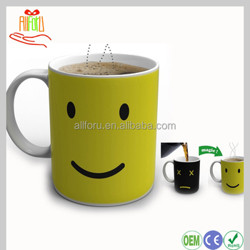 Mug Morning Change Mug Coffee Changing make Buy Ceramic hot Mug Water Magic Hot Color yvwP8Nnm0O