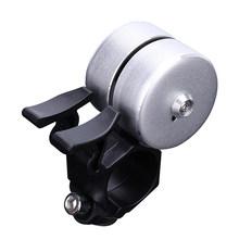 Велосипедный звонок с двойным пистолетом, для руля MTB и дорожного велосипеда, с звуковой сигнализацией, защитные кольца для езды на велосипе...(Китай)