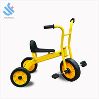 YF-B0858 wholesale high carbon steel metal 3-wheel baby scooter bicycle child tricycle kids tricycle for 2-6 years