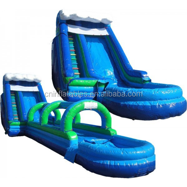 Giant Slip N Dip Inflatable Slide with pool (3 pc)