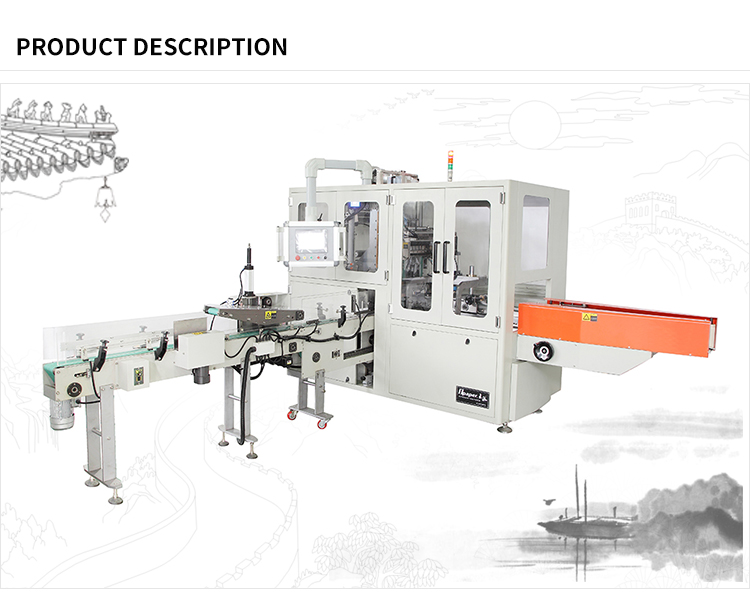 two stack big size onepaper OPC200 340 Full automatic napkin wrapping machine production line