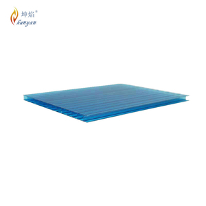 Fire retardant multiwall polycarbonate window for industry workshop