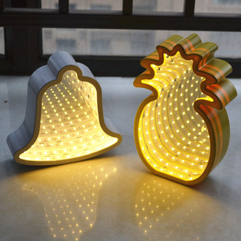 Pineapple Design Scientific Experience LED Infinity Light Box Kids Room Decoration