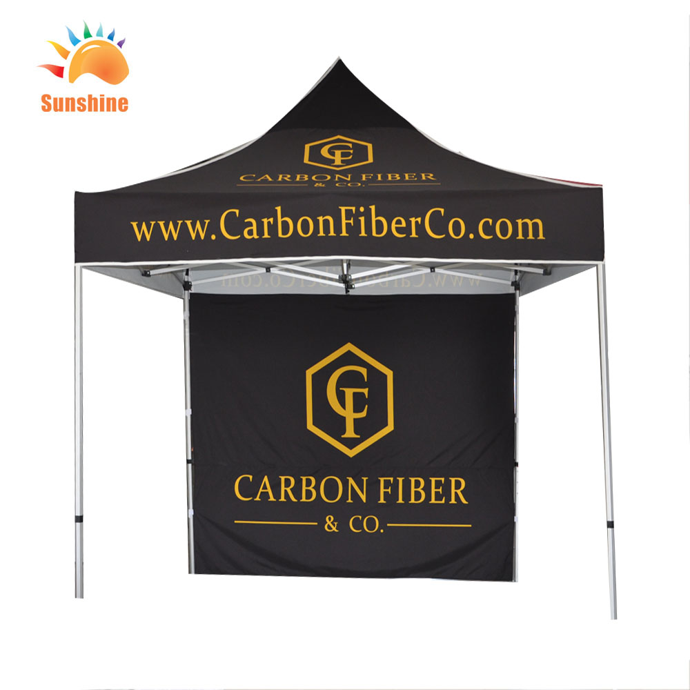 easy up dye sub print trade show commercial exhibition tent custom car display 10x10 canopy tents - 10x10 Canopy Tent