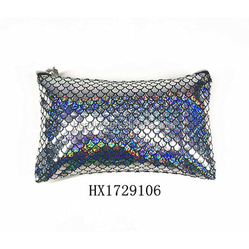 Wholesale customized mermaid PVC handbag for lady