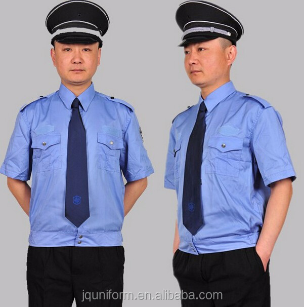 Male Gender And Perfect Fit Guard Use Security Guards Uniform ...