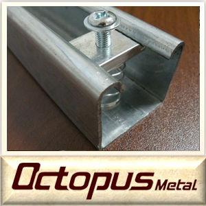 Perforado c canal laminado en fr o de acero galvanizado - Acero galvanizado precio ...