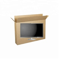 Digital lcd TV Converter Packing Box Corrugated Carton Folding Computer Box for moving