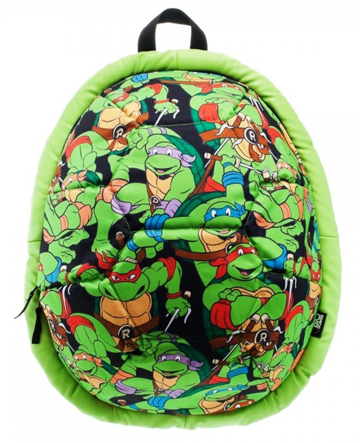 Get Quotations TEENAGE MUTANT NINJA TURTLE All Over Print Domed Turtle Shell BACKPACK