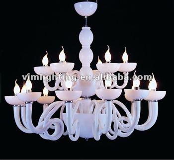 Hot sales simple milky white murano glass chandelier buy murano hot sales simple milky white murano glass chandelier aloadofball Choice Image