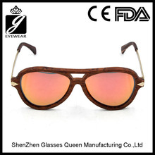 China new listing hot selling 2016 products handcrafted wood sunglasses uv400