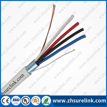 CCA shield or unshield alarm cable