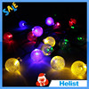 Outdoor waterproof Christmas decorative solar string light led lighting rechargeable