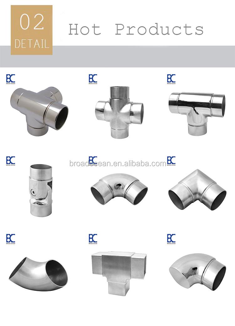 Декоративный Регулируемый лестничный поручень фитинг/Нержавеющая сталь Регулируемый смывной Столяр