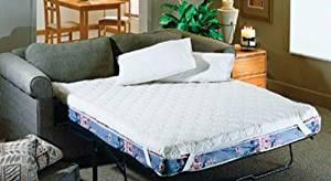 Get Quotations Hudson Industries Cc1615qvb1 Sofa Bed Mattress Topper Queen