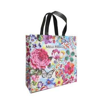 Reusable Folding Shopping Bag /Non Woven Foldable Supermarket Tote Shopping Bag