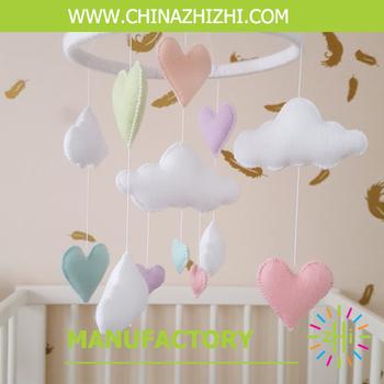 Baby Room Decoration New Design Felt Mobile For Children Bed Hanger