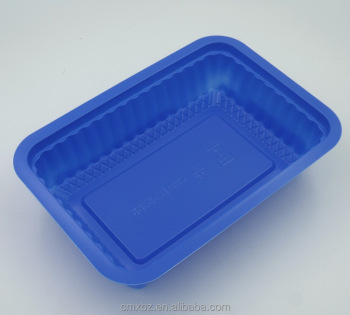 PP microwave safe disposable frozen plastic food tray