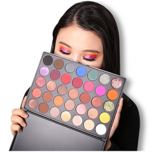 A24 2019 Nieuwe Make Up Cosmetica custom glitter 35 kleuren private label eyeshadow palette