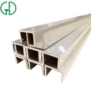China top manufacturer extrusion u channel sizes / c channel u channel / aluminum u channel profile