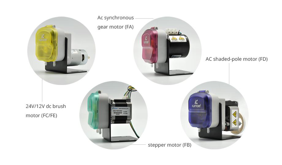 Kamoer KDS 24V 220V mini stepper motor small water pump peristaltic pump