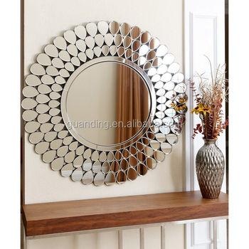 Bathroom Decorative Round Mirror Bedroom Cosmetic Mirror Buy Bathroom Round Mirror Bedroom Cosmetic Mirror Decorative Wall Mirror Product On Alibaba Com