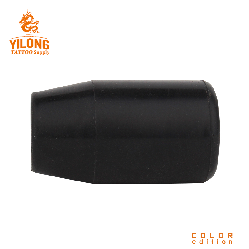 Yilong Sillicon Gel Grip Cover Tattoo Grip Cover Tattoo Supply Black  Alloy/steel Grip