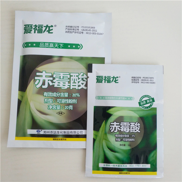 ISO9001 Certificato Rifornimento Della Fabbrica Gibberellin Gibberellic Liquido Acido 4% EC
