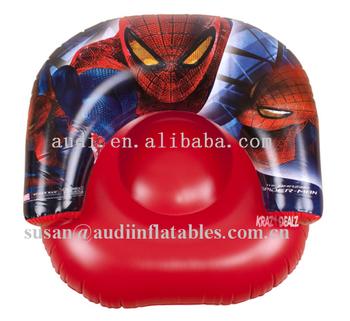 Lounge Stoel Opblaasbaar.Officiele Spiderman Movie Opblaasbare Stoel Zwembad Outdoor Indoor
