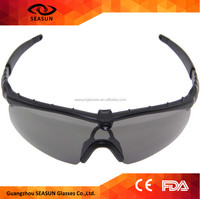 Top quality super light TR90 frame military eyewear highly clarity of vision day night view shooting safety glasses