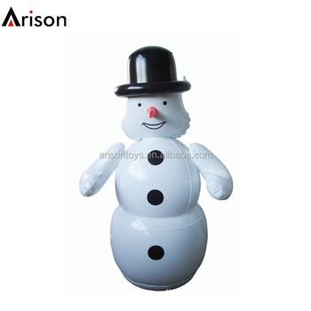 Pvc Inflatale Snowman Punching Bag Inflatable Bop Christmas Toy