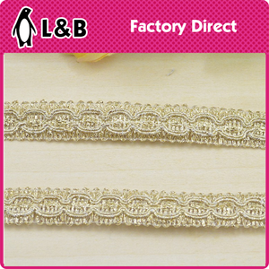 2016 newpopular lace trim crocheted sewing braided lace