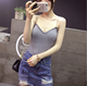 new popular summer lady condole belt vest woman V collar shirt