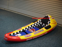 kids inflatable kayak,single one person seat raft canoe