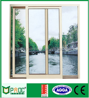Prefabricated Homes Energy Saving Aluminium Sliding Windows And Doors With Fly Screen
