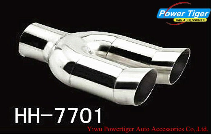 Car Muffler pipe/Exhaust muffler tip/dual pipe