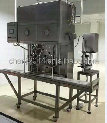 330ml 550ml Glass bottle Beer bottling equipment, 4 heads beer filling machine for 2L kegs