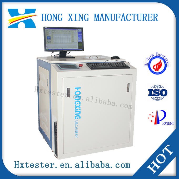 Pressure measuring instrument fully automatic, iron ore pellets pressure testing instrument