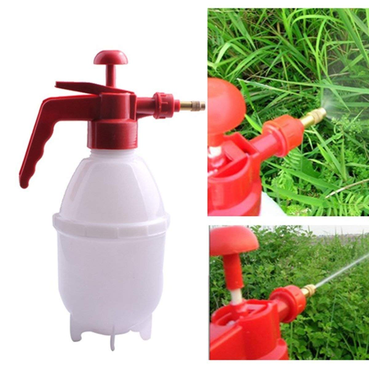 Tacoli Portable Pressure Sprayer- Pressure Pump Bottle-800 ML Portable Garden Pressure Sprayer Plant Water Chemical Spray Bottle